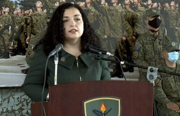 Komandantja Supreme: Me rekrutimin e 180 ushtarëve të rinj po zgjerohet baza e FSK-së