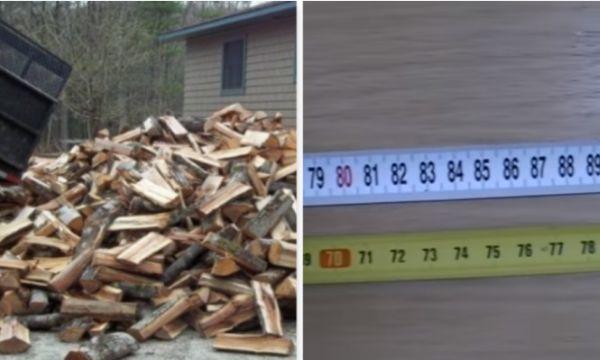 Zbulohet se si bëhet mashtrimi me metër për dru
