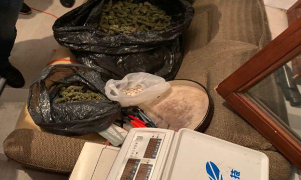Operacion policor, konfiskohen thasë me drogë në Suharekë