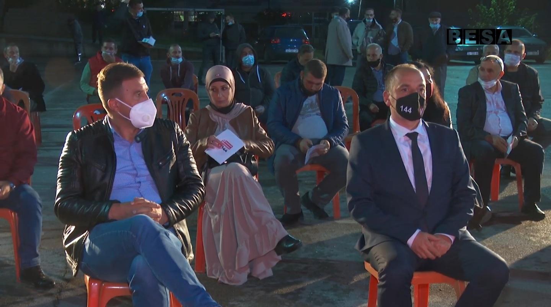 Ne Lubizhde të Prizrenit Kandidati Haskuka premtoi se problemin e ujit te pijes do ta perfundojmë
