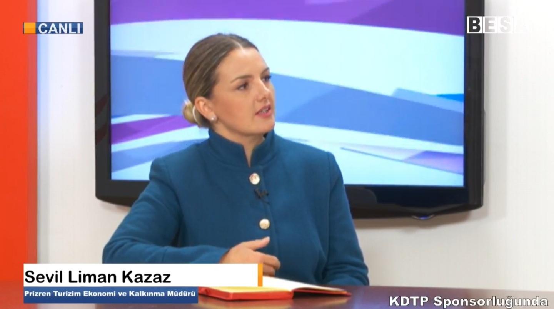Sevil Liman Kazaz – Prizren Turizim Ekonomi ve Kalkınma Müdürü