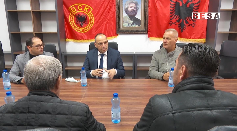 Kandidati Haskuka takon OVL-në e UÇK-së në Prizren dhe premton mbështetje edhe për të ardhmen