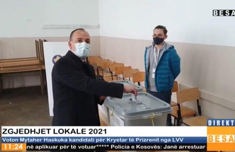 Voton Mytaher Haskuka kandidati për Kryetar të Prizrenit nga LVV (VIDEO)