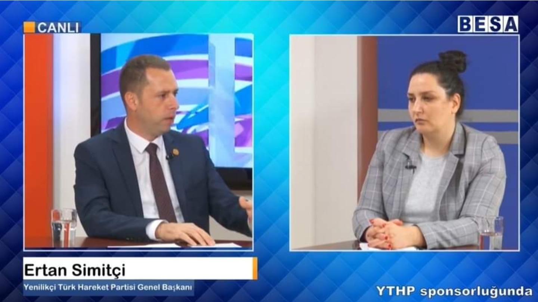 Ertan Simitçi – Yenilikçi Türk Hareket Partisi Genel Başkanı
